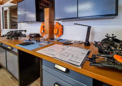 Atelier de préparation de modèles radiocommandés
